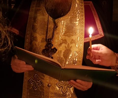Монашеский постриг в Саввино-Сторожевском монастыре.